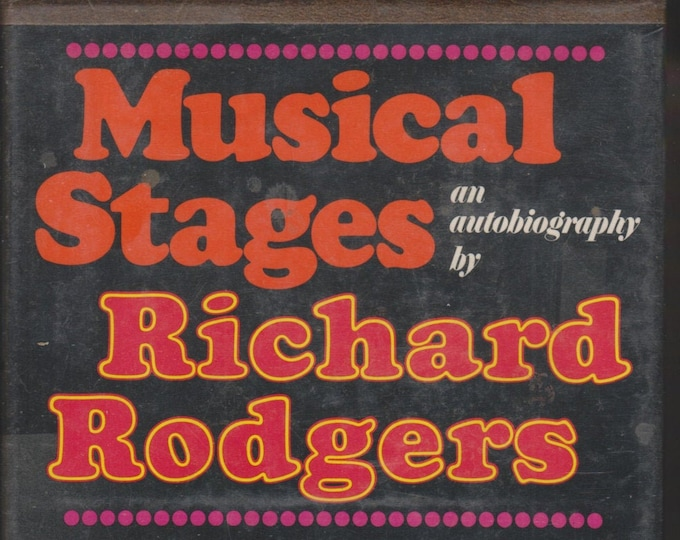 Musical Stages - An Autobiography by Richard Rodgers (Hardcover: Music) 1975 First Edition