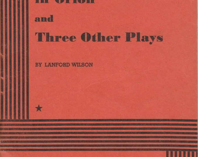 The Great Nebula in Orion and Three Other Plays 1973 (Staplebound: Theatre, Play)