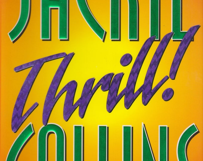 Thrill  by Jackie Collins (Hardcover: Thriller) 1998