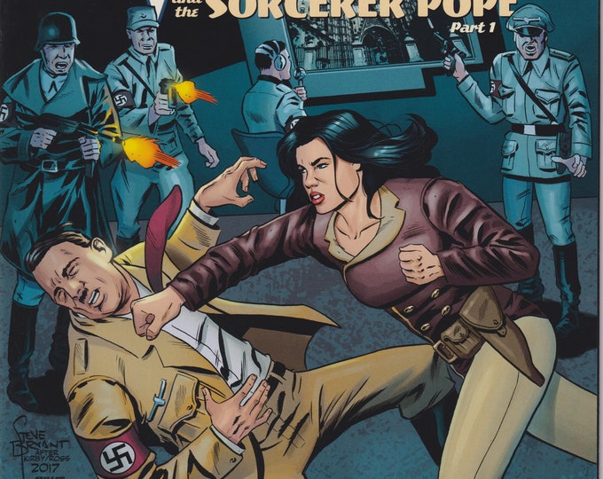 Action Lab #1 2018 Athena Voltaire and the Sorcerer Pope Part 1 (Comic: Athena Voltaire)