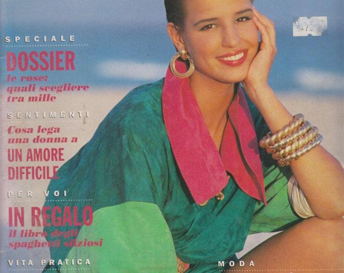 Anna 1 Maggio 1991 Dossier le rose:quali scegliere tra mille, Un Amore Difficile, In Regalo, Imparare Una Lingua, Mode Pelle piu colore