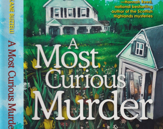 A Most Curious Murder by Elizabeth Kane Buzzelli  (Hardcover, Mystery) 2016