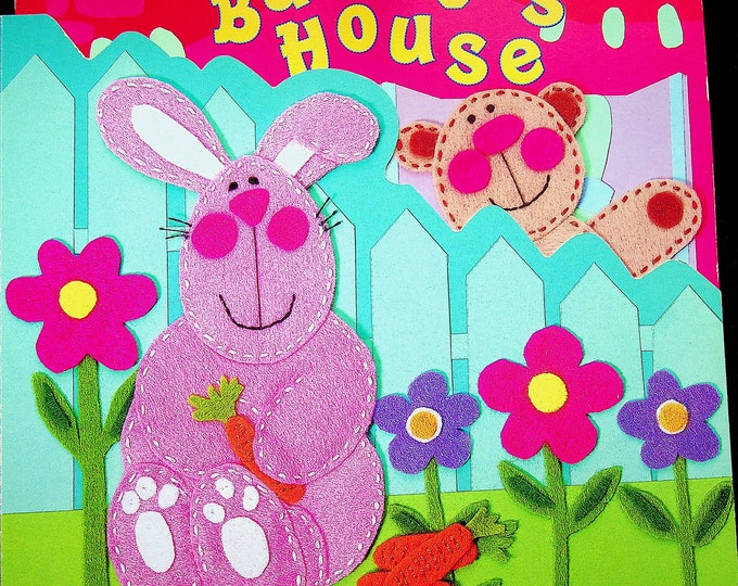 Bunny's House by Ronne Randall   (Board Book: Children's)   2001