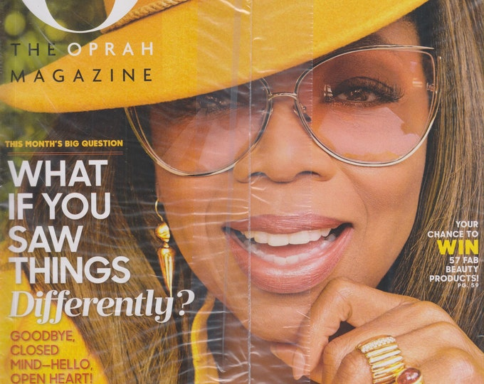 O Magazine September 2018  What If You Saw Things Differently? (Magazine, Self-Help, Inspiration)