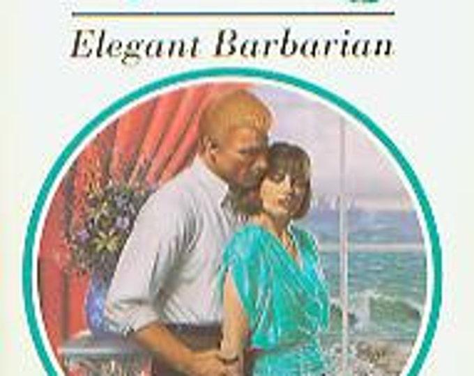 Elegant Barbarian by Catherine Spencer (Paperback, Romance)