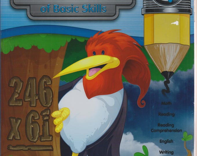 Comprehensive Curriculum of Basic Skills, Grade 4  (Math, Reading, Comprehension, English, Writing) (Softcover: Children's, Educational)