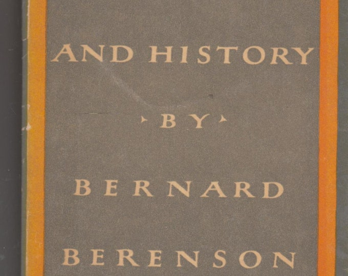 Aesthetics and History by Bernard Berenson (Paperback, Educational, Art) 1954