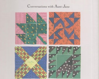 A Quilter's Wisdom  - Conversations with Aunt Jane  (Hardcover:  Folk Heroine, Quilts)  1994