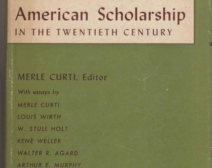 American Scholarship in the Twentieth Century (Hardcover: Essays) 1953