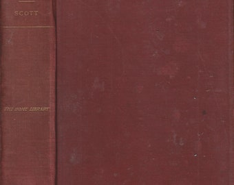 Ivanhoe  A Romance by Sir Walter Scott, Bart. (Hardcover: Historical Fiction) (circa 1911)