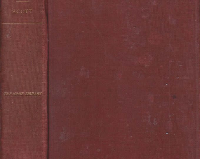 Ivanhoe  A Romance by Sir Walter Scott, Bart. (Hardcover: Historical Fiction) (circa 1911)