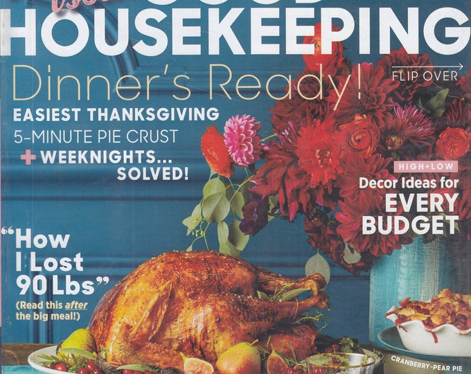 Good Housekeeping November 2017 Thanksgiving Special! Double Issue