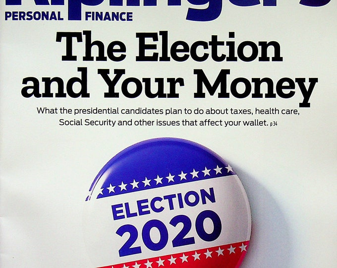 Kiplinger's September 2020 The Election and Your Money  (Magazine: Personal Finance)