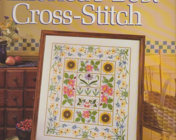America's Best Cross-Stitch (Better Homes & Gardens) (Hardcover, Needle Crafts)  1988