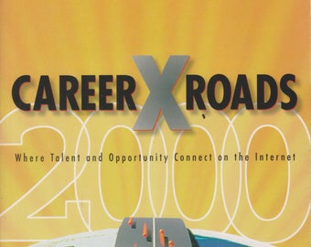 Career Xroads 2000 (Softcover, Job Search, Career)  2000