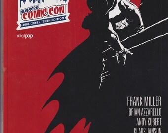 New York Comic Con 10th Anniversary Program - DK III 2015