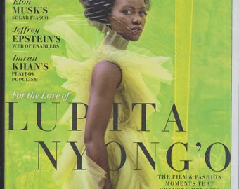 Vanity Fair October 2019 For the Love of Lupita Nyong'o (Magazine: General Interest)