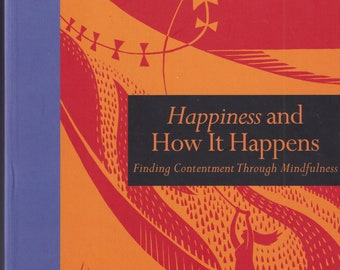 Happiness and How It Happens  (Book and Journal Set)  (Hardcover: Happiness, Self-Help) 2018