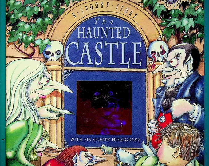 The Haunted Castle With Six Spooky Holograms   (Hardcover:  Children's Picture Books)