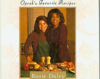 In the Kitchen with Rosie - Oprah's Favorite Recipes (Hardcover, Cookbook, Recipes)  1994