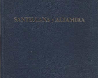 Santillana y Altamira   (Hardcover: Travel, Spain, Spanish Language) 1976