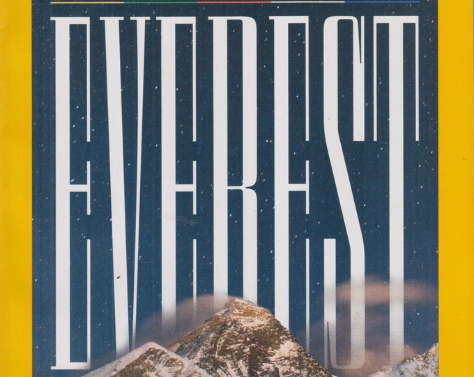National Geographic July 2020 Everest - Journey to the Roof of the World (Magazine: Geography, History, Nature, Photography)