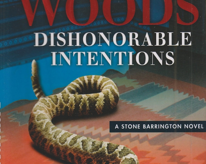 Dishonorable Intentions (Stone Barrington Novel) by Stuart Woods  (Hardcover: Mystery)  2016