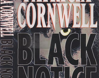 Black Notice by Patricia Cornwell  (Hardcover, Mystery) 1999