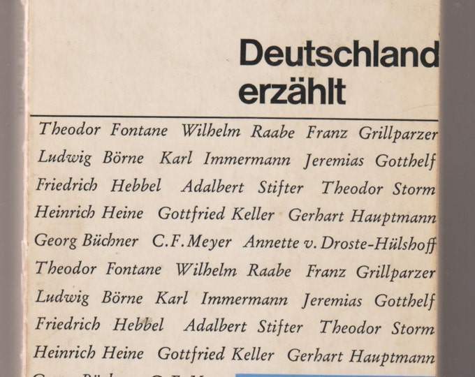 Deutschland Erzählt 1965 (A Collection of Short Stories in German) (Softcover, Fiction)