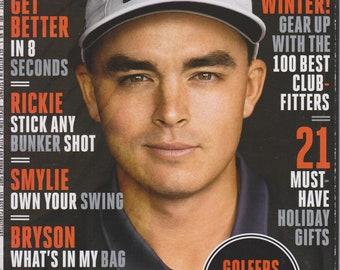 Golf Digest December 2016 January 2017 Rickie Fowler Stick Any Bunker Shot (Magazine: Golf)