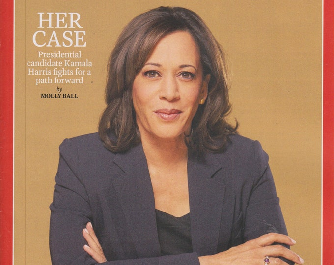 Time October 14, 2019 Kamala Harris Fights For a Path Forward  (Magazine: Current Events, Nonfiction)