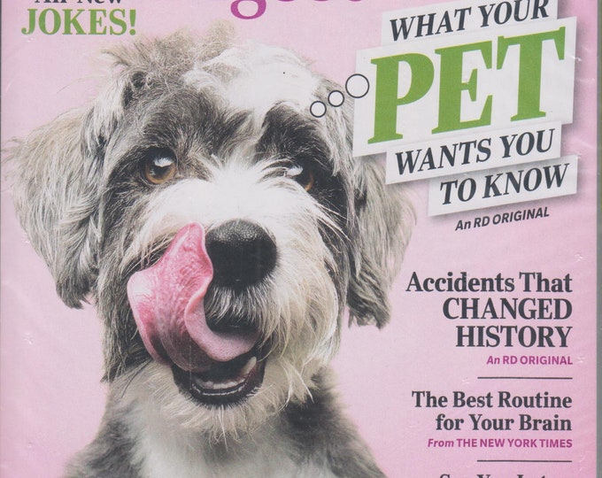 Reader's Digest February 2020 What Your Pets Wants You To Know (Magazine: General Interest)