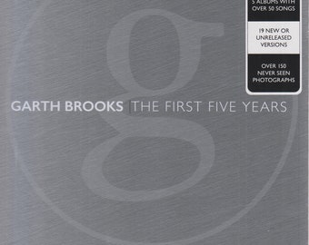 Garth Brooks  The First Five Years - The Anthology Part I (Book and 5-CD Set) (Hardcover: Music, Garth Brooks)