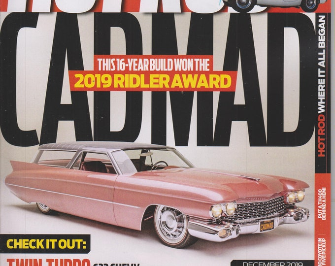 Hot Rod December 2019 CADMAD (Magazine: Cars, Automotive)