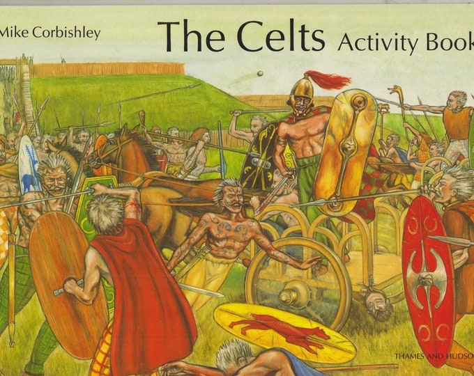 The Celts Activity Book (Softcover, History, Educational, Children's) 1994