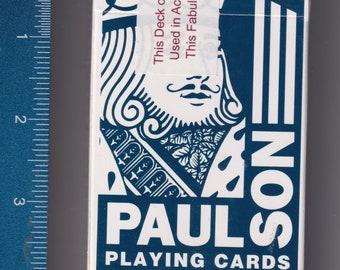 Paulson Casino Playing Cards From Rail City Las Vegas