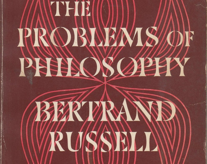 The Problems of Philosophy By Bertrand Russell  (Softcover, Philosophy) 1960