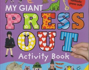 Let's Decorate My Giant Press Out Activity Book  Over 150 Press Outs, 900 Stickers  (Spiral-Bound: Children's, Activity, Crafts)  2008