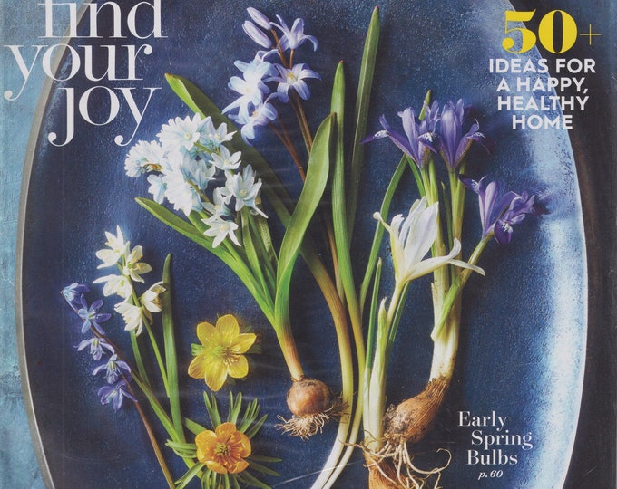 Better Homes & Gardens February 2021 Find Your Joy (Magazine: Home  and Garden)