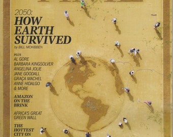 Time September 23, 2019 Special Climate Issue 2050 - How Earth Survived  (Magazine: Current Events, Nonfiction)