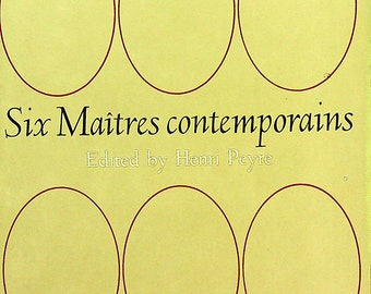 Six Maitres Contemporains (Trade Paperback: French Language, Short Stories)