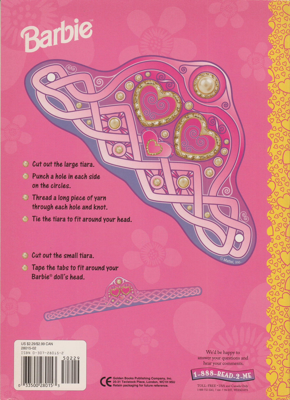 4c8e4c3072d Barbie Beautiful Ballerina Super Color Book Golden Books