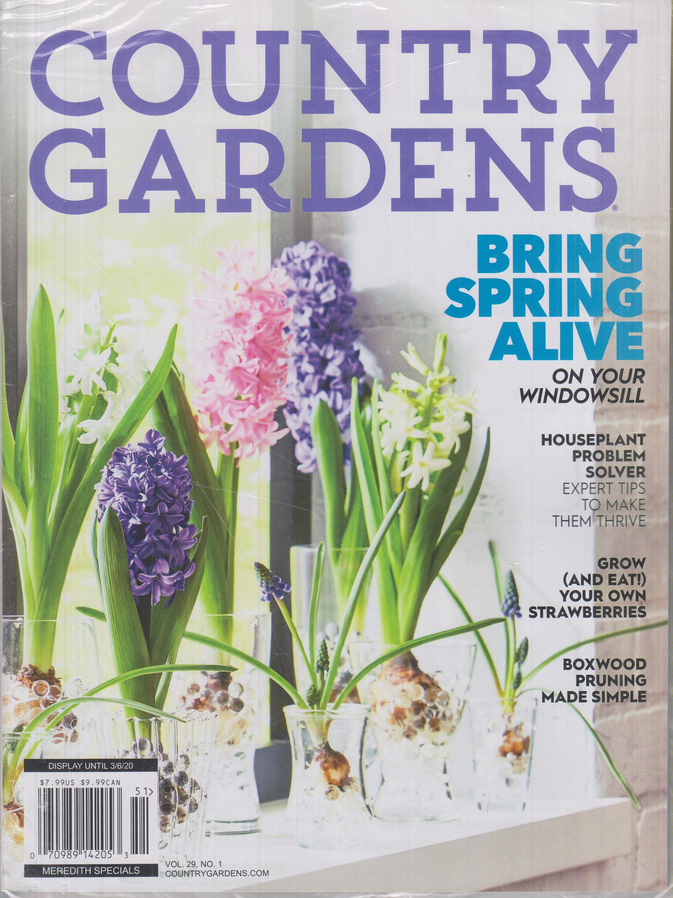 Country Gardens Magazine Early Spring 2020 Bring Spring Alive On
