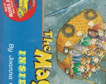 Magic School Bus Inside a Hurricane Party!   (Softcover: Children's, Activities, Poster, Cartoon Tie-in.)  1996