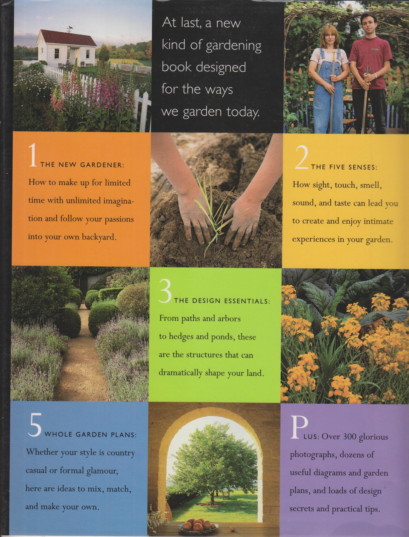 The Garden Design Book (Hardcover: Gardening, Garden ...