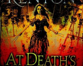 At Death's Door by Sherrilyn Kenyon (A Deadman's Cross Novel)  (Hardcover: Pirate Fantasy)  2019