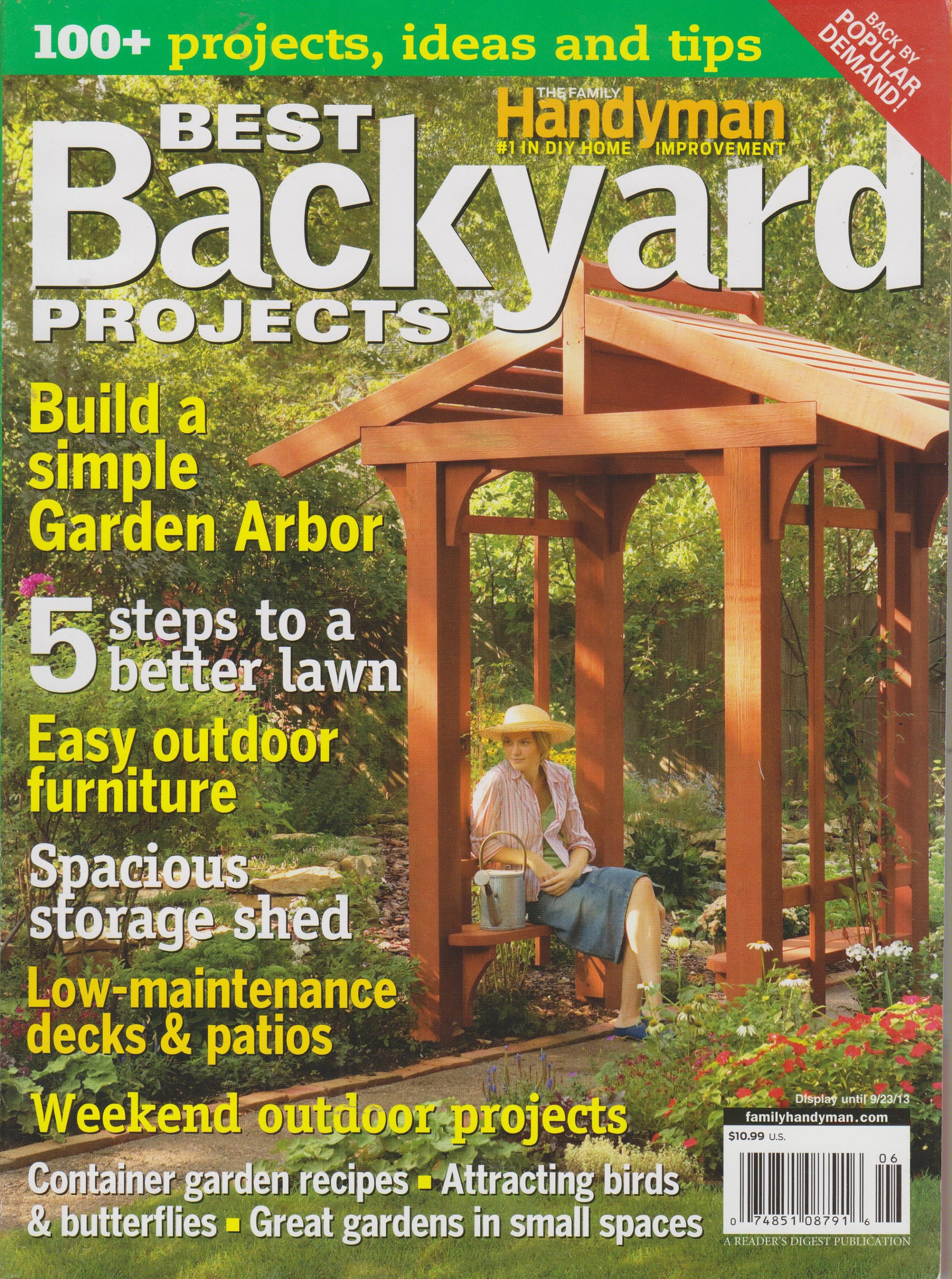 Best Backyard Projects (The Family Handyman) 100 Projects