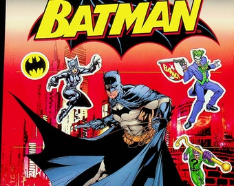 DK Batman Ultimate Sticker Collection (More than 1000 Reusable Full Color Stickers  (Softcover: Children's, Activity, Batman) 2012