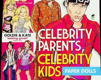 Celebrity Parents,  Celebrity Kids Paper Dolls (Paper Dolls, Celebrity) 2010