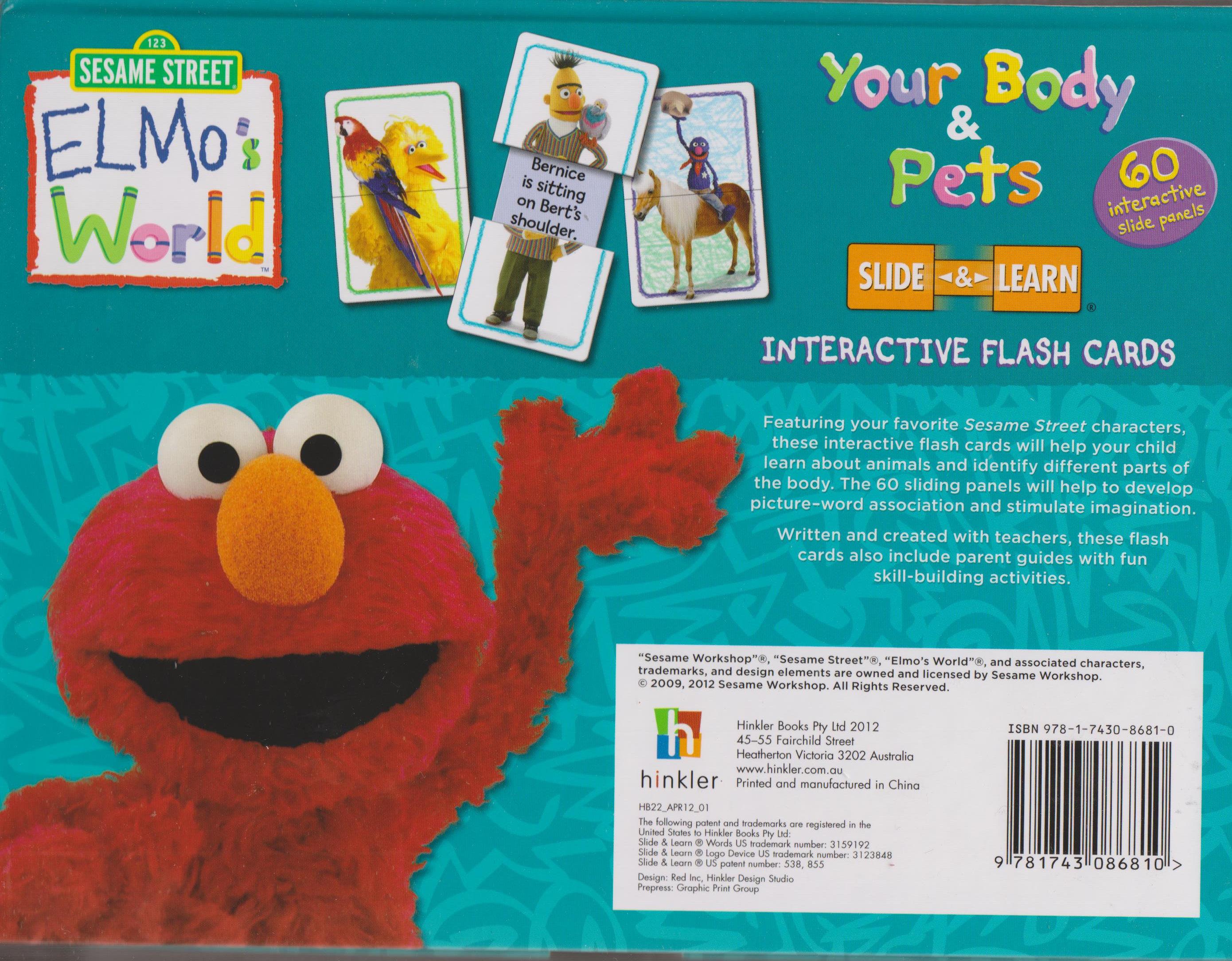 Elmo Elmo S World Your Body Pets Interactive Flash